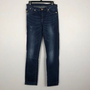 Rock & Republic Blue Straight Blue Jeans